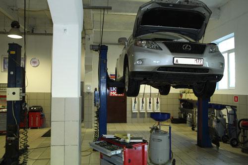 Ремонт автомобиля лексус
